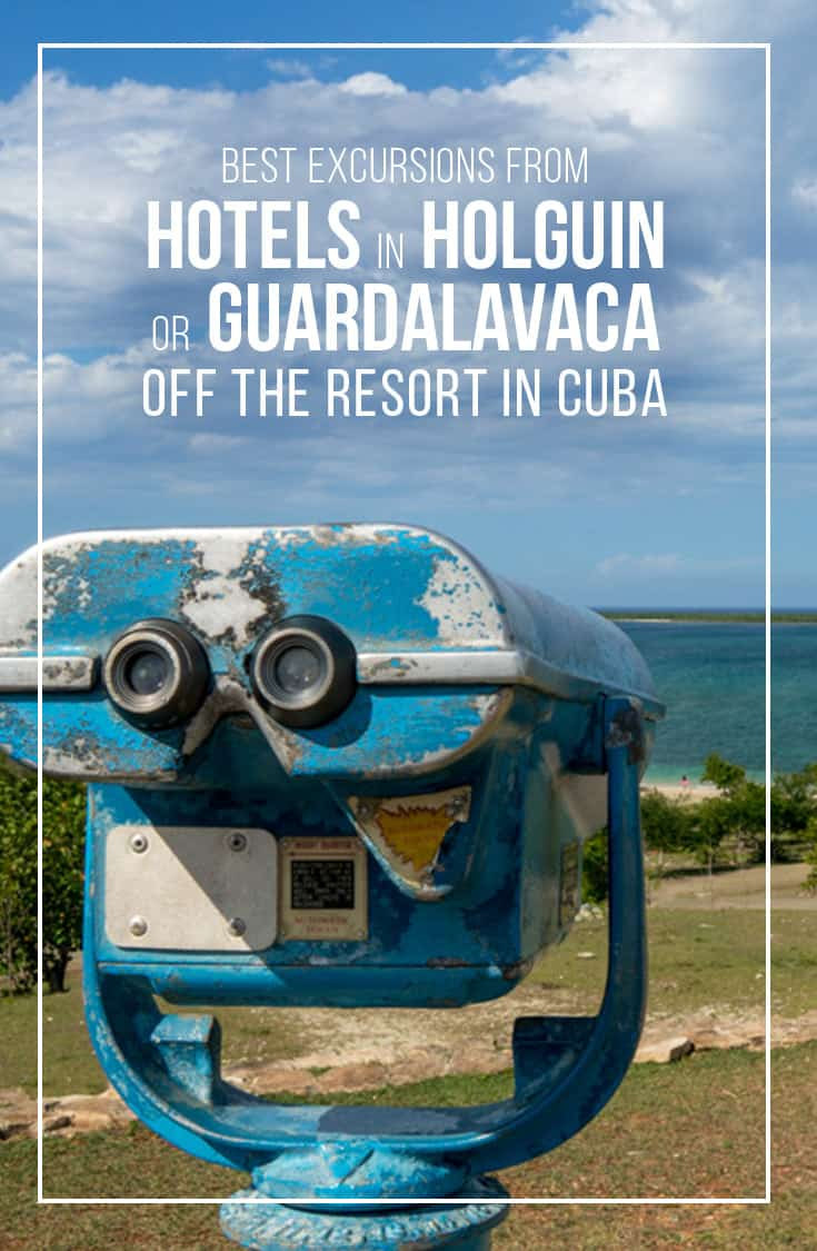 Sometimes you just have to leave the comfort of your beach chair and head off the resort. We put together a list of the best Excursions to take from Hotels in the Holguin or Gaurdalavaca areas of Cuba. From historical sites, cultural attractions to shopping in downtown Holguin we've got you covered here.   Cuba   Excursions   Attractions   Off the Resort   Holguin   Gauradalavaca   Tours and Excursions  