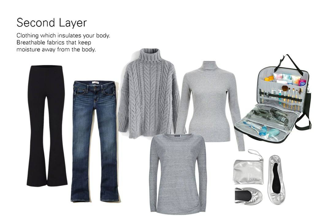 Second Layer Winter Carry-on Only Packing List