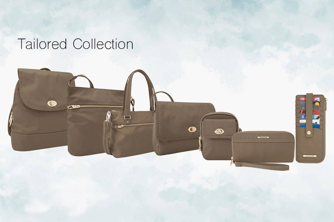 Travelon Anti-theft bags tailored collection