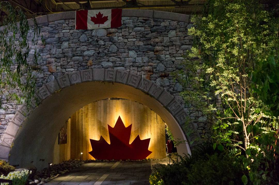 Tribute to Highway of Heroes at Canada Blooms